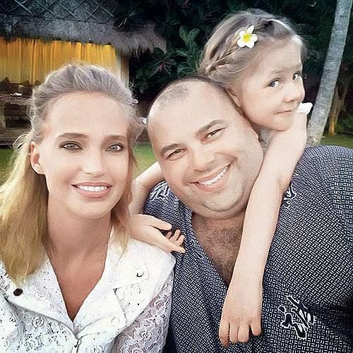 максим фадеев с женой и сыном фото